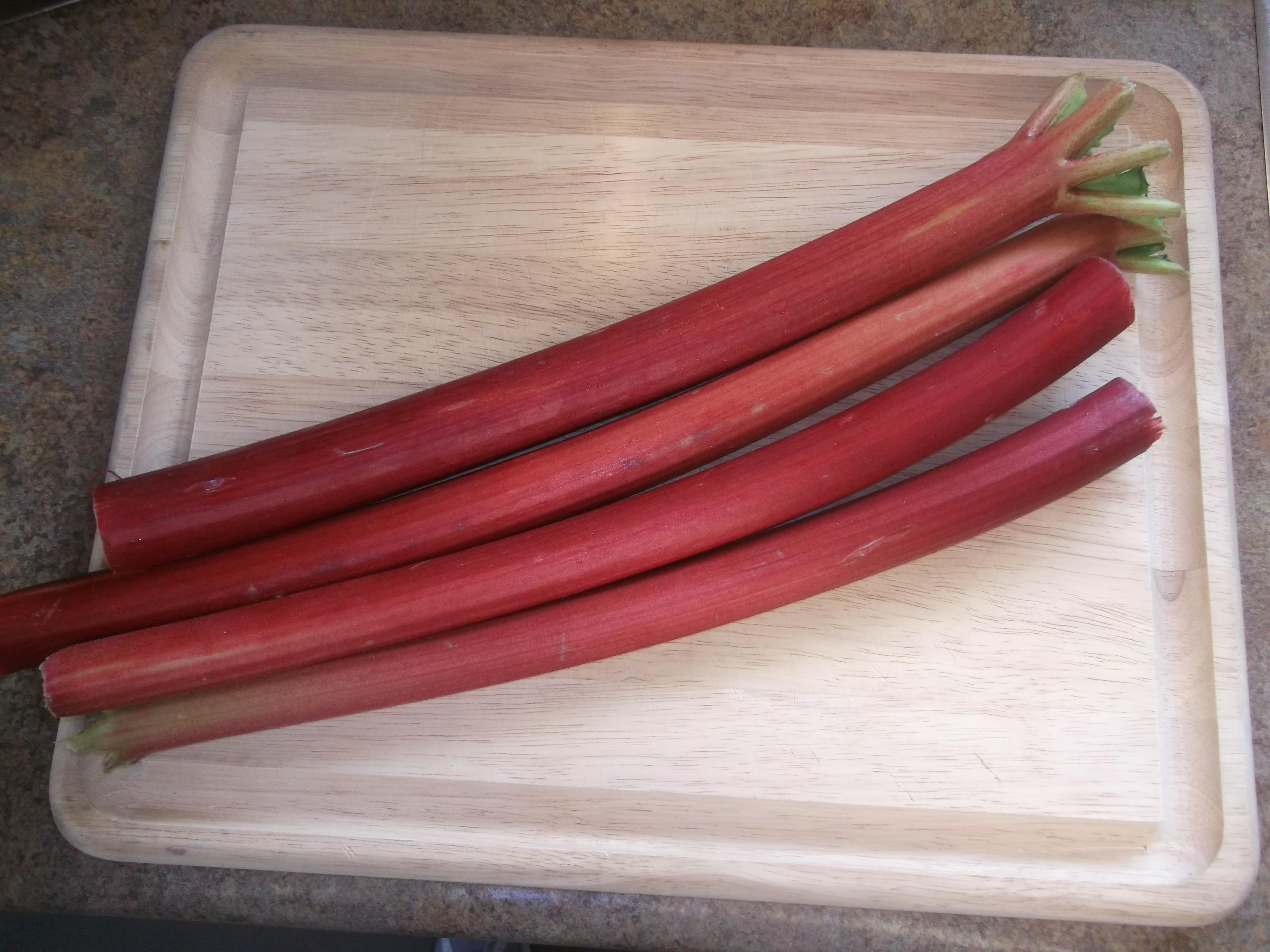 Rhubarb Braised Chicken Thighs – Diane's Food Blog