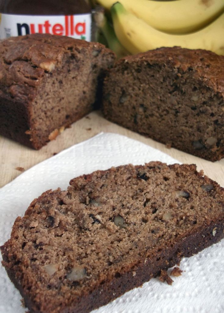 Banana Bread withNutella 003