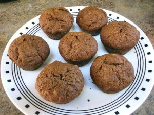 Nutella Banana Nut Muffins 001