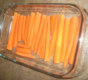 Olive Oil Braised Carrots 020