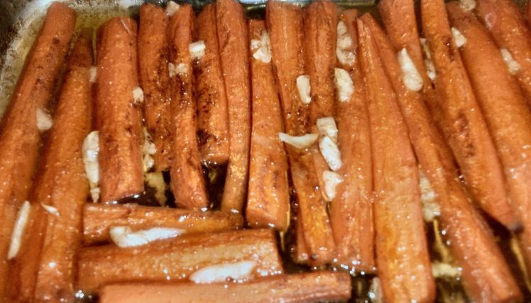 Olive Oil Braised Carrots 044