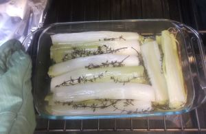 Olive Oil Braised Leeks 033