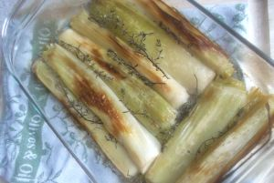 Olive Oil Braised Leeks 037