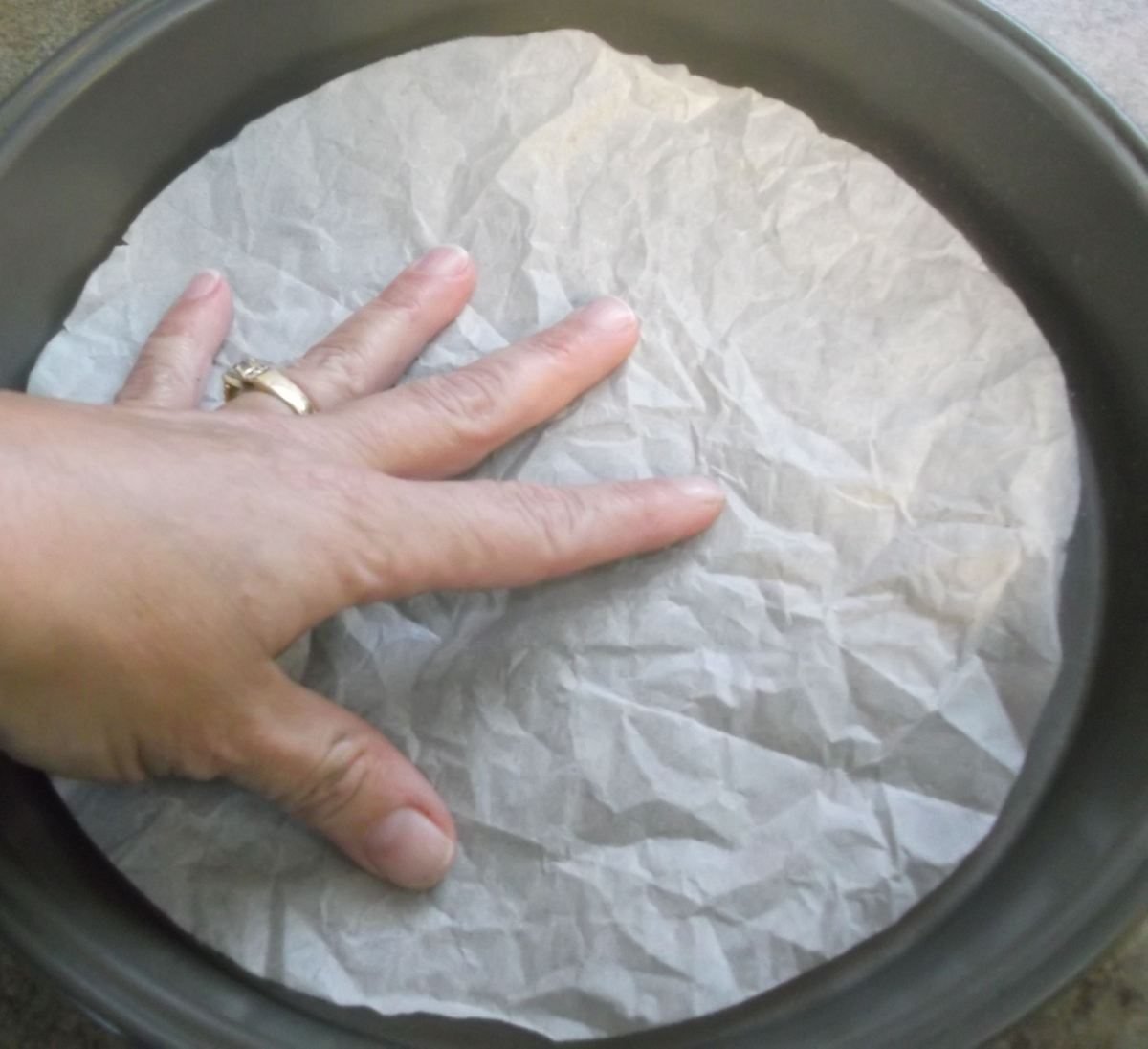 Quick Tip Lining Baking Pans With Parchment Paper Diane