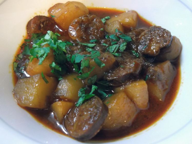 Rioja-Style Potatoes with Chorizo