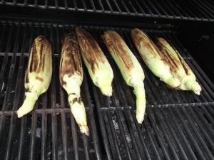 Grilling corn 009