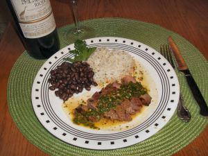 Churrasco Beef with Chimichurri 040
