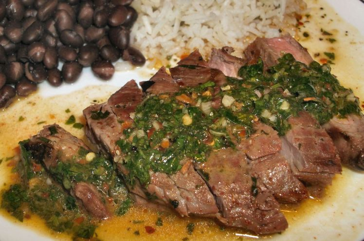 Grilled Churrasco Beef with Chimichurri Sauce – Diane's Food Blog