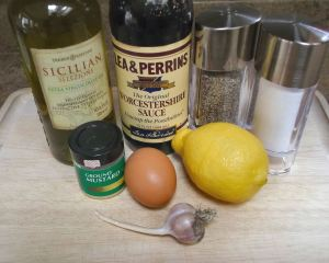 Caesar Salad dressing ingredients