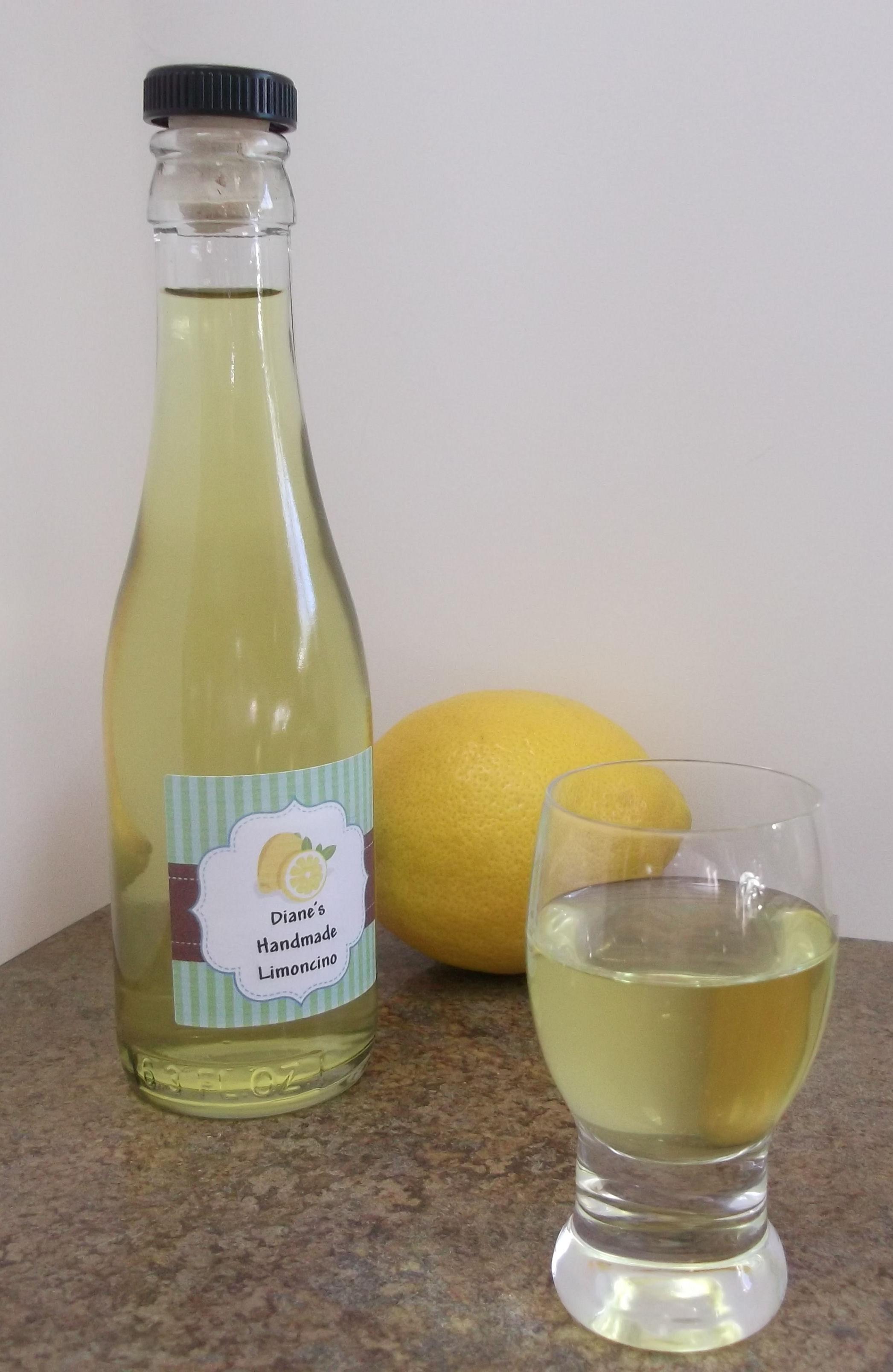 Limoncello limoncino unterschied und Zitronen Limoncello
