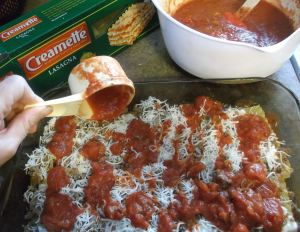 Easy Classic Lasagna 029