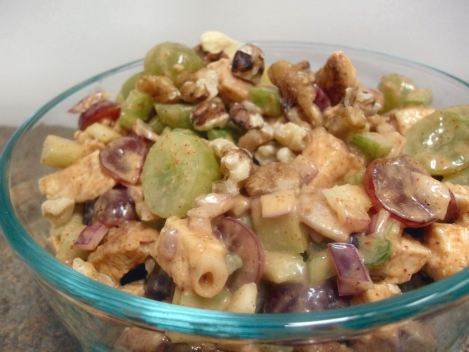 Chicken and Grape Salad 036