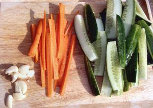 Crunchy Refrigerator Dill Pickles 006