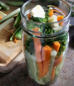 Crunchy Refrigerator Dill Pickles 011