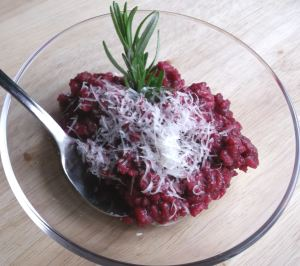 Beet risotto 038