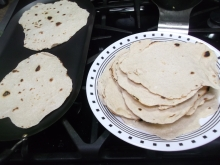 Homemade flour tortillas 017