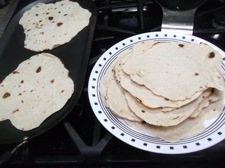 Homemade flour tortillas 017