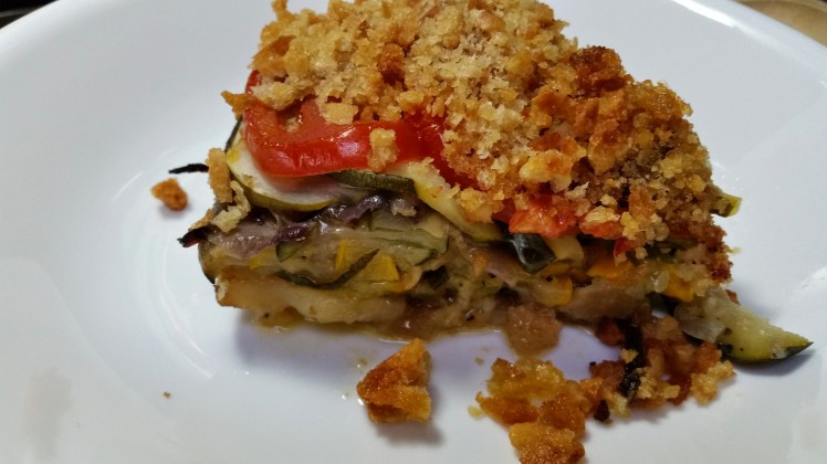 Zucchini tian