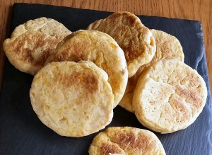Madeiran sweet potato bread